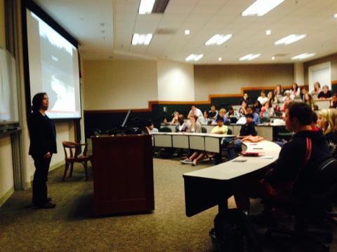 Guest Speaker, Dr. Susan Tanner