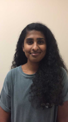 Vidisha Gangidi, 4th-year Human Development and Family Sciences major.